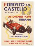 No. 1 Circuito del Castello Giclee Print