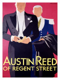 Austin Reed Giclee Print by Tom Purvis