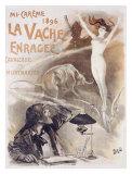 La Vache Enragee Giclee Print by  PAL (Jean de Paleologue)