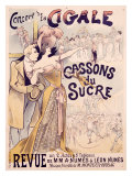 La Cigale Giclee Print by Alfred Choubrac