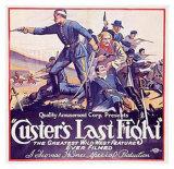 Custer's Last Fight - Giclee Baskı