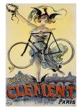 Bicicletas Clement Lámina giclée por  PAL (Jean de Paleologue)