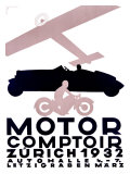 Motor Comptoir Giclee Print by Otto Baumberger