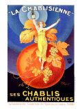 La Chablisienne Giclée-tryk af Henry Le Monnier