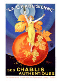 La Chablisienne Giclee Print by Henry Le Monnier