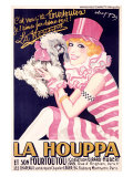 La Houppa Giclee Print by  Choppy