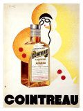 Cointreau Giclee Print by Charles Loupot