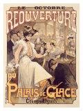 Palais de Glace, Reoverture Giclee Print by  Loir