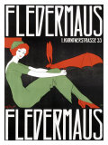 Fledermaus Giclee Print by Fritz Langer