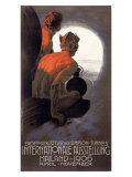 International Ausstellung Mailand Giclee Print by Leopoldo Metlicovitz