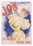 Job Papier and Cigarettes Giclee Print by Jules Chéret