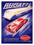 Bugatti Giclee Print by R. Geri