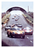 24 Heures du Mans Giclee Print by Geo Ham