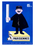 Parisiennes Cigarettes ジクレープリント : レイモン・サヴィニャック