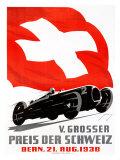 V. Grosser Preis der Schweiz Giclee Print by Armin Bieber