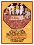 Orient Teppiche Giclee Print by Burkhard Mangold