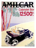 Amilcar Giclee Print by  Chazelle