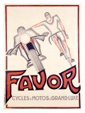 Favor Cycles Giclee Print