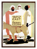 Derry and Tom&#39;s Objects from East Giclee Print by Edward McKnight Kauffer
