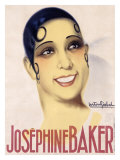 Josephine Baker Giclee Print by Gaston Girbal