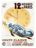 Coupe Olazur Giclee Print by Geo Ham