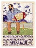 Max Buri, Kunstsalon, Wolfsberg Giclee Print by Max Buri