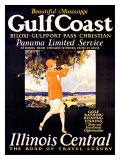 Gulf Coast, Illinois Central Giclee Print by  Proehl