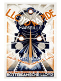 Lloyd Rapide Giclee Print by  Wilmink