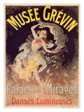 Musee Grevin, Palais Mirages Giclee Print by Jules Chéret