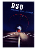 DSB Giclee Print by Ramussen 
