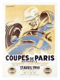 Coupes de Paris Impression giclée par Geo Ham