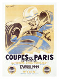 Coupes de Paris Giclee Print by Geo Ham