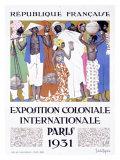 Exposition Coloniale, Paris 1931 Giclee Print by Jacques de la Neziere