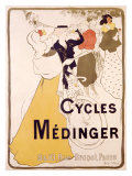 Cycles Medinger Giclee Print by  Bottini