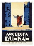 Alexander Alexeieff - Isadora Duncan - Giclee Baskı