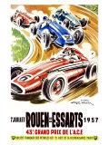 Rouen les Essarts, 1957 Reproduction procédé giclée par Geo Ham