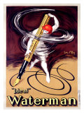Waterman Ideal Fountain Pen Giclee Print by Jean D&#39; Ylen