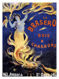 Le Brasero Giclee Print