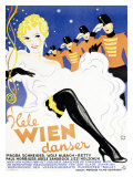 Hele Wien Danser Giclee Print by Wennervald 