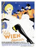 Hele Wien Danser Giclee Print by  Wennervald
