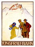 Jungfraubahn Giclee Print by Emil Cardinaux