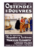 Ostende-Douvres Giclee Print by Henri Cassiers