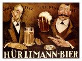 Hurlimann Bier Giclee Print