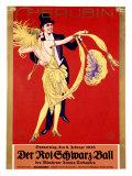 Der Rot Schwartz Ball Giclee Print by  Stolz