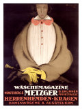 Waschemagazine Metzger Giclee Print by Charles Loupot