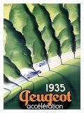 Peugeot Giclée-Druck von Paul Colin