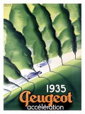 Peugeot Giclee Print by Paul Colin
