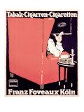 Franz Foveaux Gicléetryck av Ludwig Hohlwein
