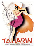 Tabarin Giclée-tryk af Paul Colin