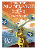 Join Air Service Giclee Print by Jozef Paul Verrees